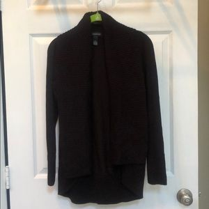 INC comfortable cardigan With some stretch